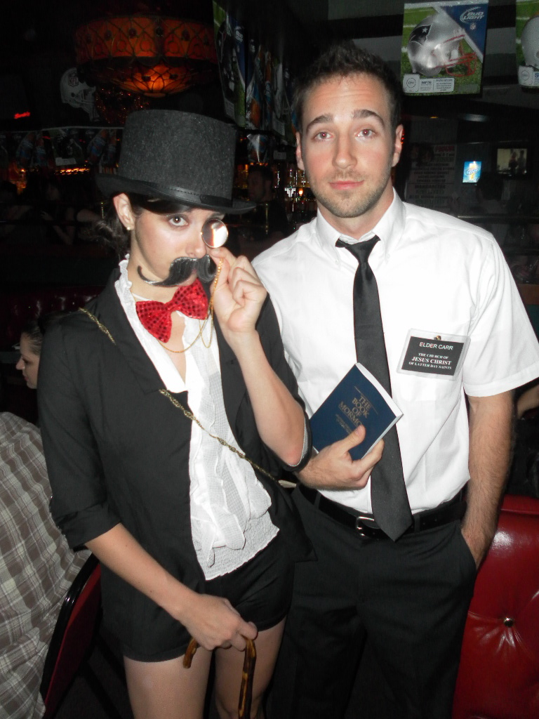and - Mormon Halloween Costumes